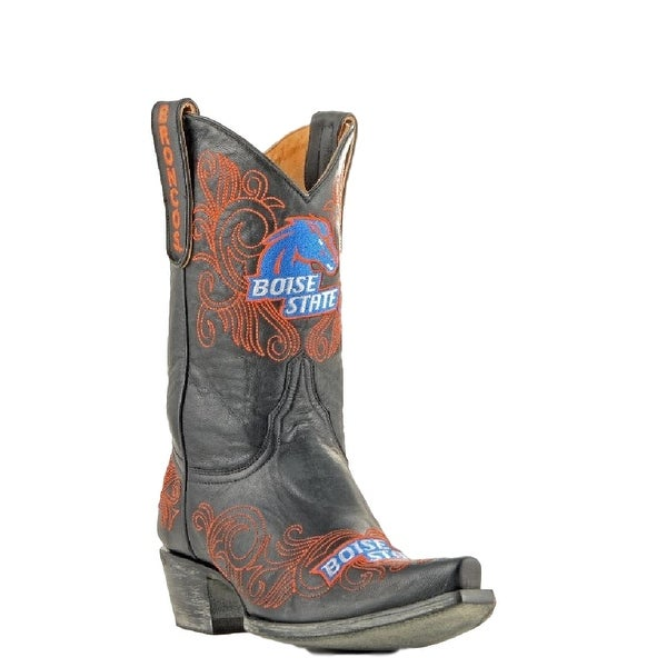 Gameday Boots Womens College Team Boise State Broncos Black