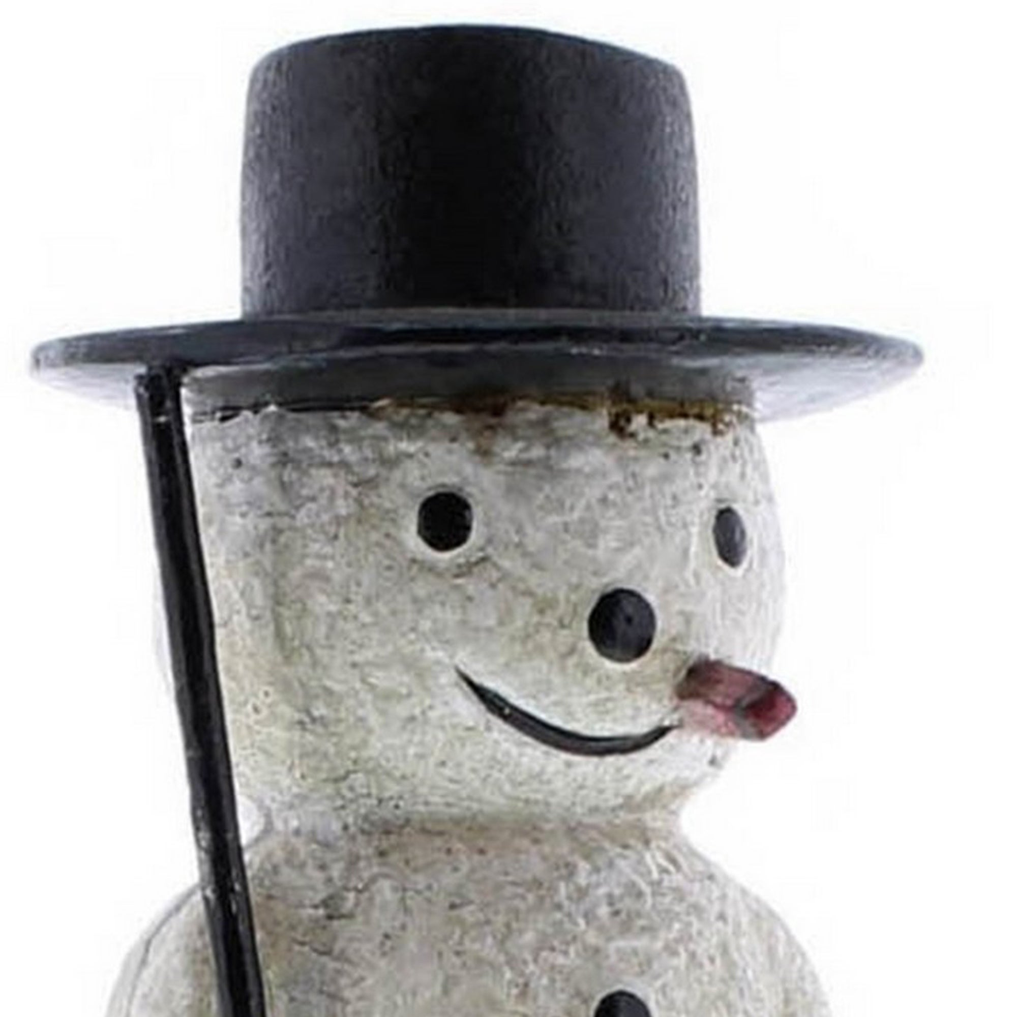 Metal Frame Snowman Shape Stocking Holder White And Black On Sale Overstock 31937762