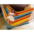 Sunnydaze Multi-Colored Mayan Hammock - Thumbnail 8