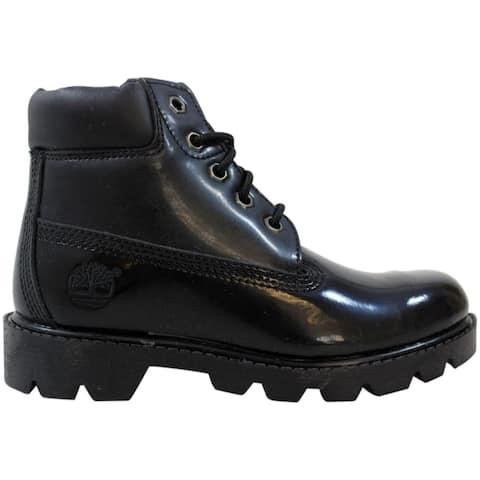 Timberland Classic 6 Inch Boot Black Patent Light 11714 M Pre-School