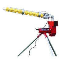Heater Trend Sports Baseball and Softball Pitching Machine with Ball Feeder