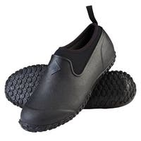 Muck Boot's Women's Muckster II Low Black Boots w/ 4mm CR Flex-Foam - Size 7