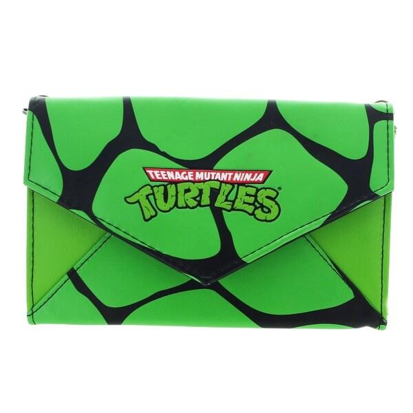 Teenage Mutant Ninja Nylon Envelope Wallet - Green