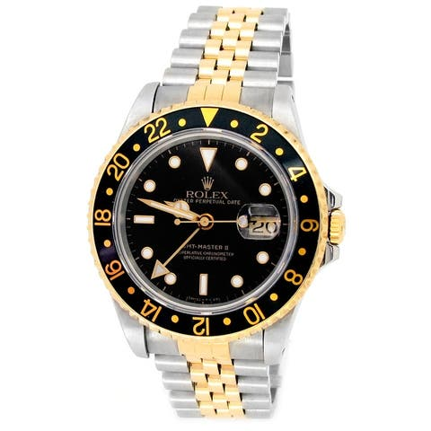 Pre-owned 40mm Rolex Two-tone GMT-Master II Watch