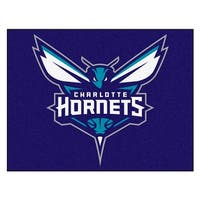 NBA Charlotte Hornets All Star Non-Skid Mat Rectangular Area Rug