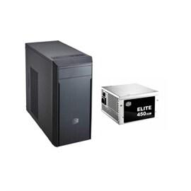 CoolerMaster Case MASTER BOX LITE 3 MATX MINI TOWER 450 Watts Power Supply 1/0/(1) BAY USB 3.0 2.0