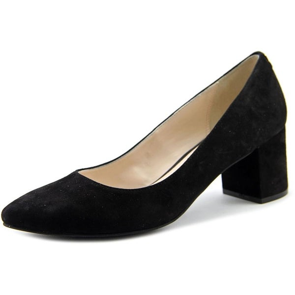 Cole Haan Claudine Women Pointed Toe Suede Black Heels