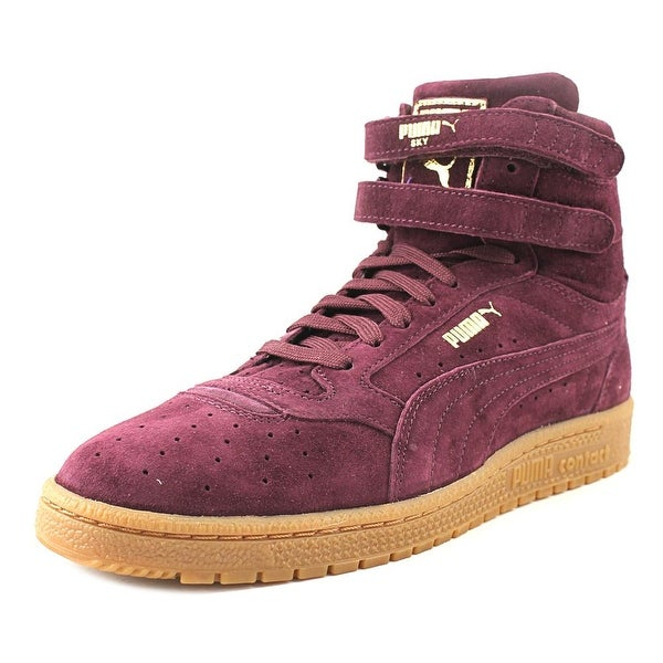 Puma Sky II Hi Nbk Women Round Toe Leather Purple Sneakers