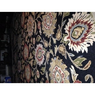 Hand-tufted Alameda Traditional Floral Wool Area Rug (9' x 12')