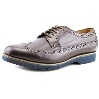 Cole Haan Great Jones XL Long Wingtip Wingtip Toe Leather Oxford