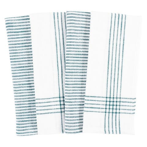 Monoco Relaxed Casual Kitchen Towels, Set of 4