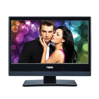 13.3 Inch Naxa 12Volt AC/DC LED HDTV ATSC with DVD and Media Player + Car Package