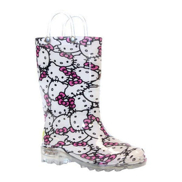ff44db6a5 Shop Western Chief Girls' Hello Kitty Light-Up Rain Boot Pink - Free  Shipping On Orders Over $45 - Overstock - 10049029