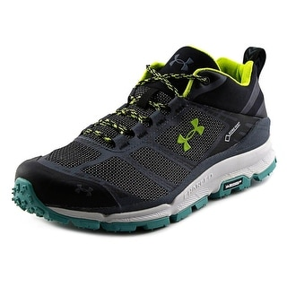 Under Armour Verge Low Gore-Tex Men Round Toe Synthetic Black Hiking Shoe