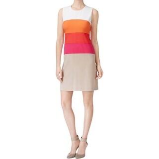 Calvin Klein Womens Wear to Work Dress Sleeveless Knee-Length (3 options available)