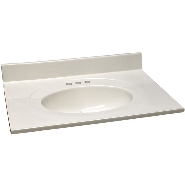 "Shop Design House 586321 31"" Cultured Marble Vanity Top ..."