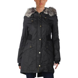 French Connection Womens Parka Bomber Hooded