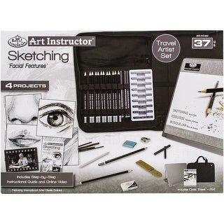 Art Instructor Sketching Travel Set-Large - 37Pc