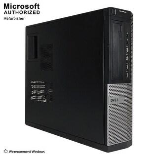 Dell OptiPlex 9010 Desktop Computer Intel Core I5 3470 3.2G 16GB DDR3 1TB HDD W10P64(ES/EN) 1 Year Warranty (Refurbished)-Black