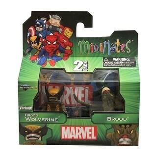Marvel Minimates 47 Figure 2 Pack Variant Brood Wolverine & Brood