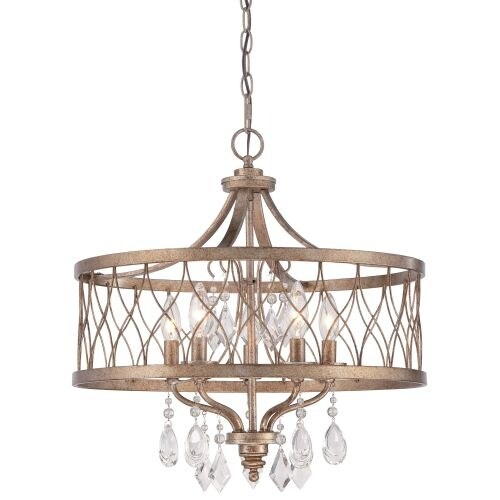 Minka Lavery 4404-581 5 Light Single Tier Chandeliers from the West Liberty Collection