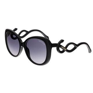 Roberto Cavalli RC911S MINTAKA 01B Black Butterfly Sunglasses