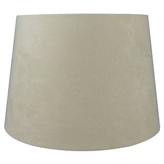 Link to Suede Hardback Lamp Shade, 10 inch Top, 12 inch Bottom, 8.5 inch Slant Similar Items in Lamp Shades