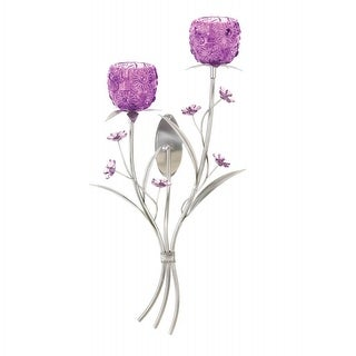 Flowering Fuchsia Wall Sconce