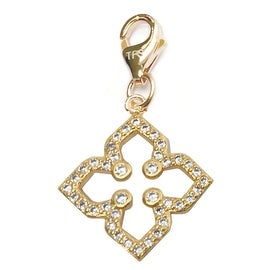 Julieta Jewelry Clover CZ Clip-On Charm