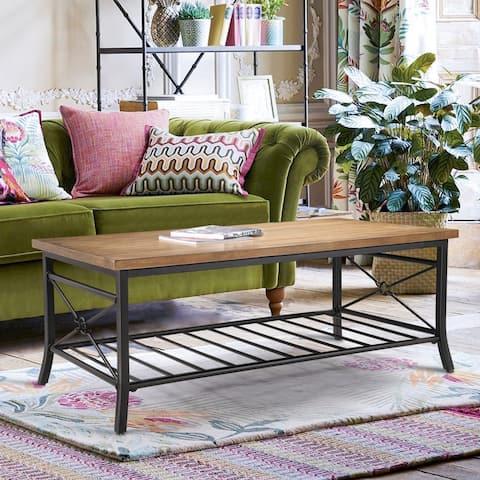Rectangle Modern Farmhouse Wood Coffee Table, Side Table, Sofa Table, Office Desk