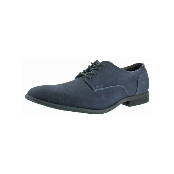 Calvin Klein Mens Lucca Derby Shoes Solid Plain Toe
