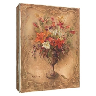 """PTM Images 9-154640  PTM Canvas Collection 10"""" x 8"""" - """"Fragrant Bouquet I"""" Giclee Flowers Art Print on Canvas"""