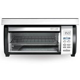 Black & Decker TROS1000D SpaceMaker Under-the-Cabinet 4 Slice Toaster Oven