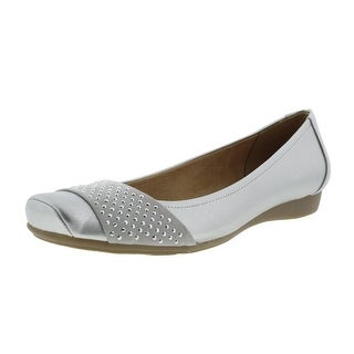 Naturalizer Womens Vine Metallic Embellished Flats
