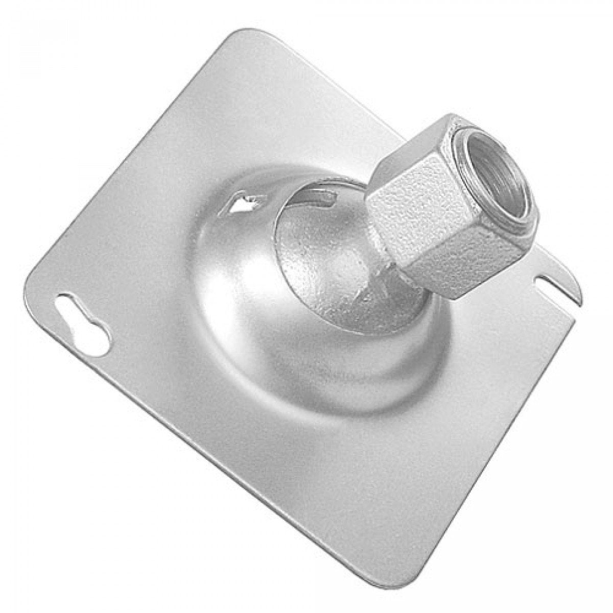 2 Pcs, 4 in. Square Swivel Fixture Hanger Cover for 1/2 in. Pipe, Zinc Plated Steel