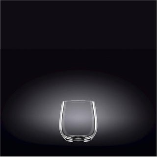 Wilmax 888051 400 ml Whisky Glass Set of 2, Pack of 12