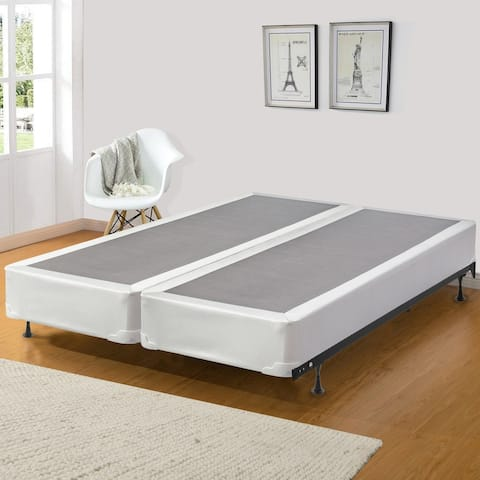 ONETAN, 8-Inch Wood Fully Assembled Split Traditional Box Spring/Foundation For Mattress.