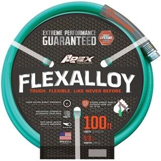 """Apex 8550-100 Flexalloy Garden Hose, 5/8"""" X 100'"""