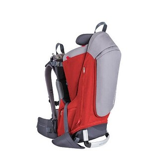 Phil and Teds Escape Carrier- Red/Grey Child Carrier