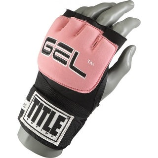 Title Boxing Gel Revolution Custom Form Fit Fist Wraps - Youth - Black/Pink