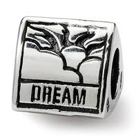 Sterling Silver Reflections Inspiration Trilogy Bead (4mm Diameter Hole)
