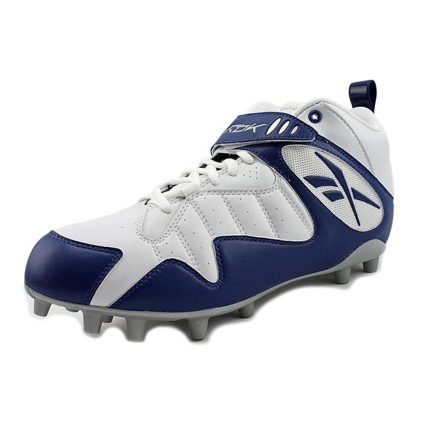 Reebok Pro All Out One Mid MP Men White/Dark Royal Cleats