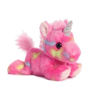 """Link to Bright Fancies Jellyroll Unicorn 7"""" Plush Toys Similar Items in Stuffed Toys"""