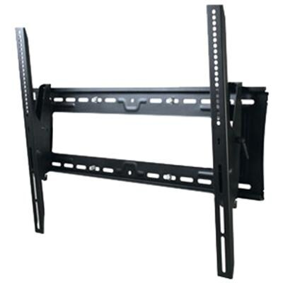 Atdec Th-3070-Ut Heavy Duty Tilt Adjustable Wall Mount With Lockable Security Bar For Displays Up To 200-Pound, Black