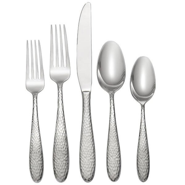 Oneida H156020A Reyna 20 Piece Flatware Set, Silver