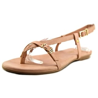 J/Slides Capri Women Open Toe Leather Thong Sandal