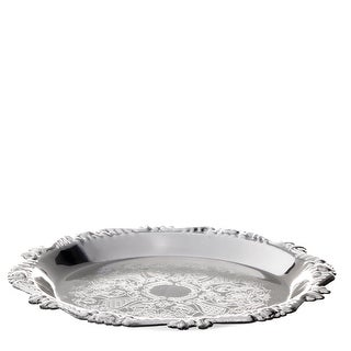 Silver Plated Tray for Kiddush Cup 4""