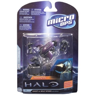 Halo Micro Ops Series 1: Ghost Vs. Wolf Spider Turret