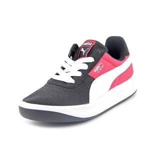 Puma GV Special CVS Jr Youth Round Toe Canvas Black Sneakers