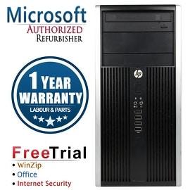 Refurbished HP Compaq 6200 Pro Tower Intel Core I5 2400 3.1G 4G DDR3 500G DVDRW Win 7 Pro 64 1 Year Warranty